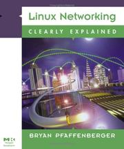 Cover of: Linux Networking Clearly Explained