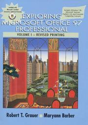 Cover of: Exploring Microsoft Office 97 Professional