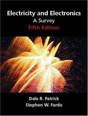 Cover of: Electricity and Electronics
