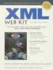 Cover of: XML Web Kit