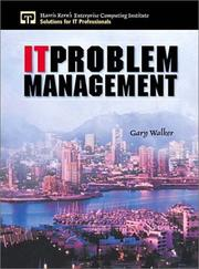 Cover of: IT Problem Management
