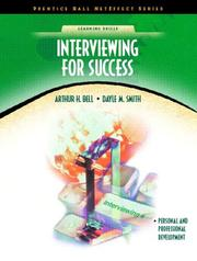 Cover of: Interviewing for Success
