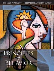 Cover of: Principles of Behavior, Fifth Edition