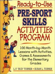 Cover of: Ready-To-Use Pre-Sport Skills Activities Program (Ready-To-Use)