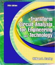 Cover of: Transform Circuit Analysis for Engineering and Technology (5th Edition)