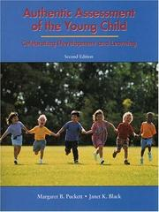 Cover of: Authentic Assessment of the Young Child