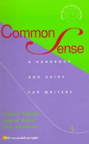 Cover of: Common Sense Handbook, The