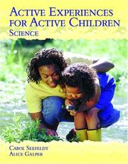 Cover of: Active Experiences for Active Children - Science