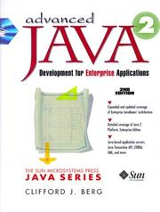 Cover of: Advanced Java 2 Development for Enterprise Applications (2nd Edition)