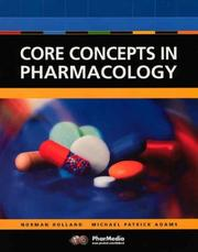 Cover of: Core Concepts in Pharmacology (CD-ROM Included)