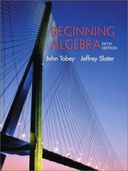 Cover of: Beginning Algebra (5th Edition)