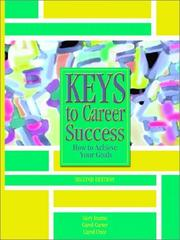 Cover of: Keys to Career Success