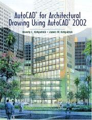 Cover of: AutoCAD(R) for Architectural Drawing Using AutoCAD(R) 2002
