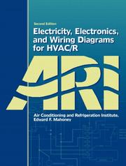 Cover of: Electricity, Electronics, and Wiring Diagrams for HVAC/R (2nd Edition)