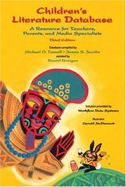 Cover of: Children's Literature Database and Booklet