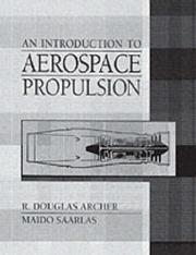 Cover of: Introduction to Aerospace Propulsion, An