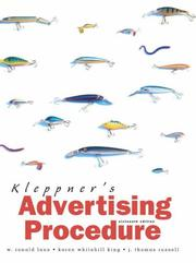 Cover of: Kleppner's Advertising Procedure