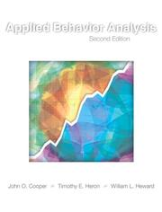 Cover of: Applied Behavior Analysis (2nd Edition)
