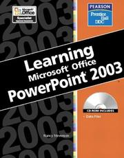 Cover of: Learning Series (DDC): Microsoft  Office PowerPoint 2003 (DDC Learning Series)