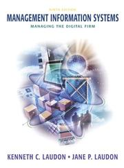 Cover of: Management Information Systems: Managing the Digital Firm (9th Edition)