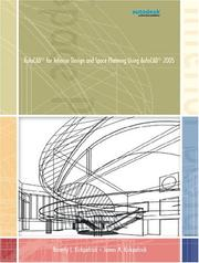 Cover of: AutoCAD 2005 for Interior Design and Space Planning Using AutoCAD(R) 2005