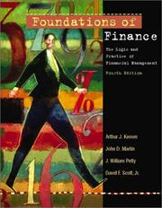 Cover of: Foundations of Finance and Eva Tutor Package, Fourth Edition