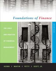 Cover of: Foundations of Finance