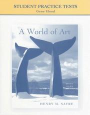 Cover of: Student Practice Tests: A World of Art