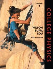 Cover of: College Physics, Volume 1 (6th Edition)