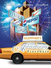 Cover of: Kleppner's Advertising Procedure (17th Edition)
