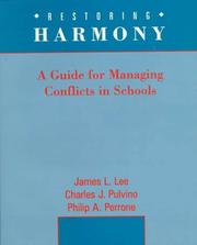 Cover of: Restoring Harmony