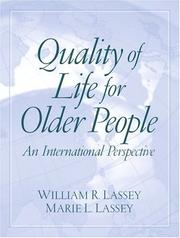 Cover of: Quality of Life for Older People