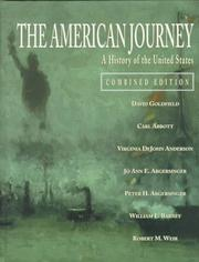 Cover of: American Journey The