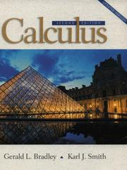 Cover of: Calculus (2nd Edition)