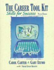 Cover of: The Career Tool Kit
