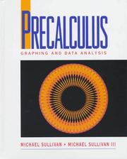 Cover of: Precalculus: graphing and data analysis