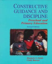 Cover of: Constructive Guidance and Discipline