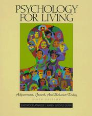 Cover of: Psychology for Living