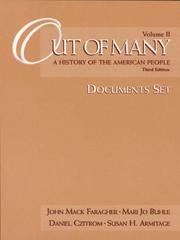 Cover of: Out of Many: A History of the American People