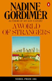 Cover of: A world of strangers