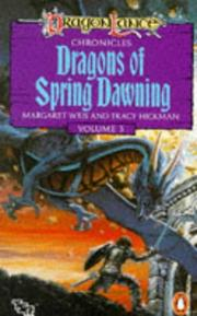 Cover of: Dragons of Spring Dawning - Chronicles V. 3 (Dragonlance)