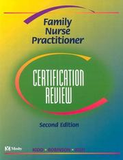 Cover of: Family Nurse Practitioner Certification Review
