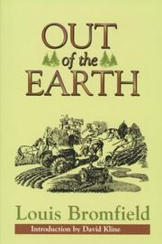 Cover of: Out of the Earth