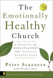 Cover of: Emotionally Healthy Church, The