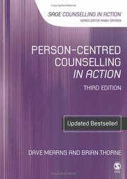 Cover of: Person-Centred Counselling in Action (Counselling in Action series)