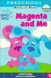 Cover of: Magenta and Me!