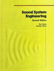 Cover of: Sound System Engineering, Second Edition