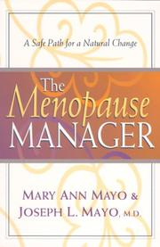 Cover of: The Menopause Manager
