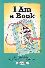 Cover of: I Am A Book
