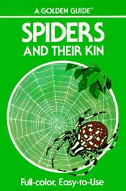 Cover of: Spiders and their kin